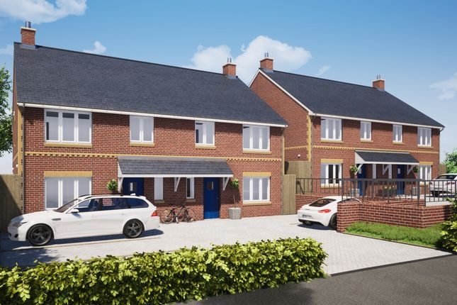 Thumbnail Semi-detached house for sale in Plot 3, The Firs, Cullompton