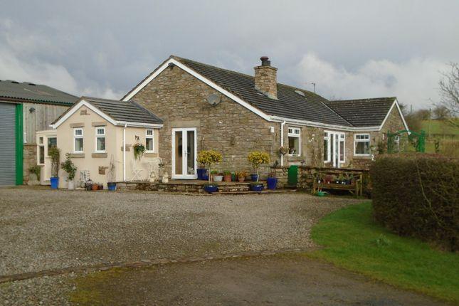 Thumbnail Farmhouse for sale in Lees Hill, Brampton, Cumbria