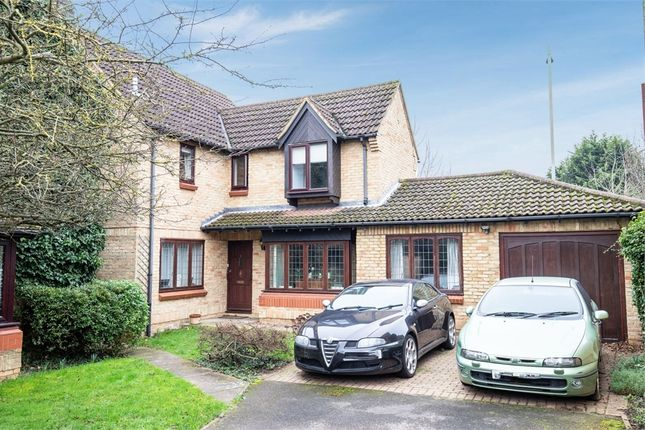 Thumbnail Detached house for sale in Beverley Gardens, Clophill, Bedford
