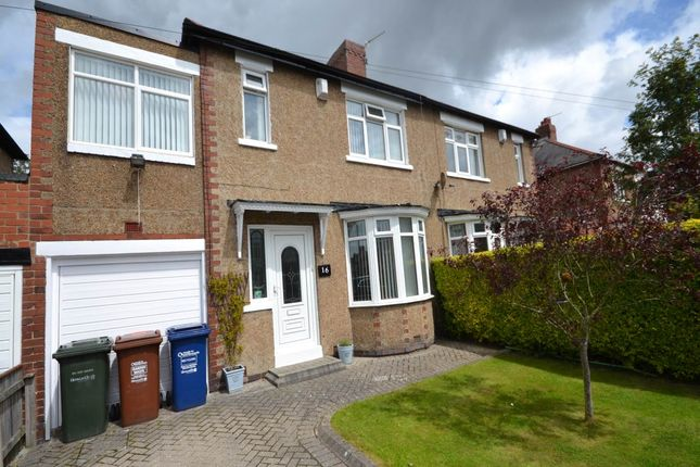 Thumbnail Semi-detached house to rent in Northcote Avenue, West Denton, Newcastle Upon Tyne