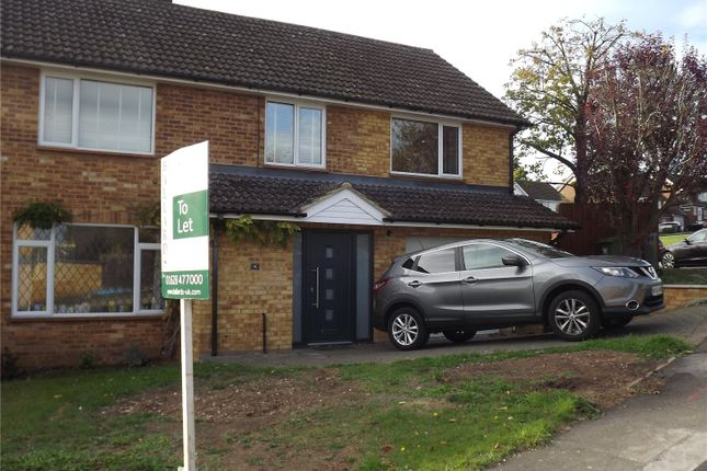 Thumbnail Semi-detached house to rent in Woodland Way, Marlow, Buckinghamshire
