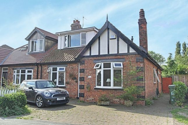 Thumbnail Semi-detached bungalow for sale in Thorn Road, Hedon, Hull