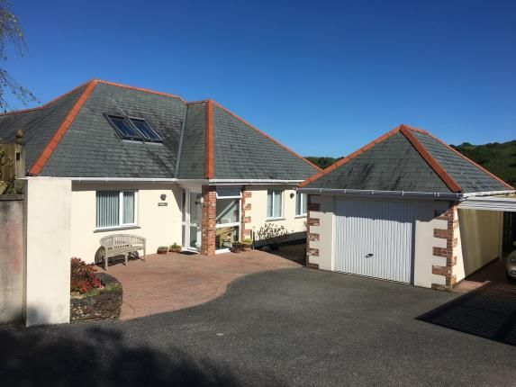 Thumbnail Bungalow for sale in Gorran Haven, St. Austell, Cornwall