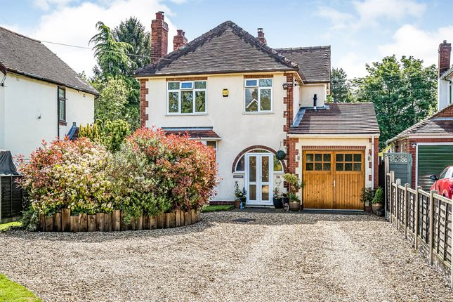 Thumbnail Detached house for sale in Old Worcester Road, Hartlebury, Kidderminster