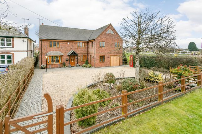 Thumbnail Detached house for sale in Weddington Road, Nuneaton