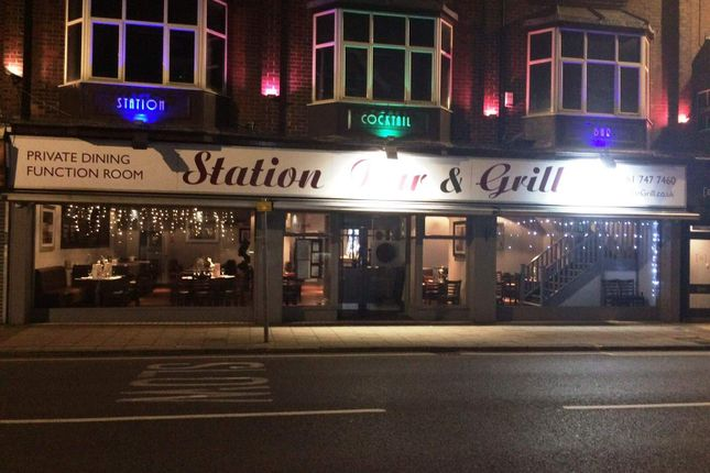 Thumbnail Restaurant/cafe for sale in Station Road, Urmston, Manchester