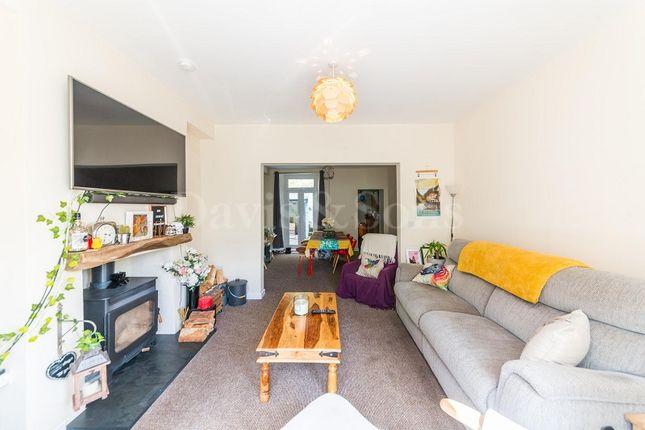 Lounge of Hafod Tudor Terrace, Wattsville, Cross Keys, Newport. NP11