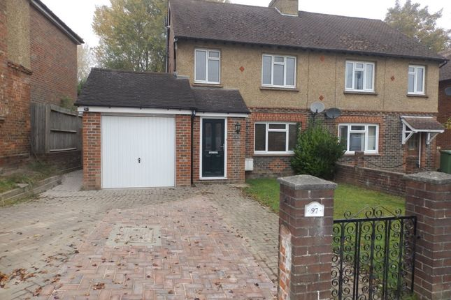Thumbnail Semi-detached house to rent in Powder Mill Lane, Tunbridge Wells