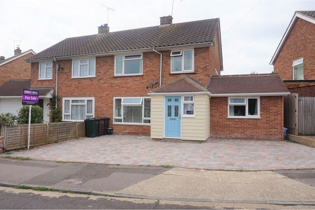 Thumbnail Semi-detached house for sale in Rylands Road, Ashford