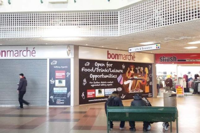 Thumbnail Retail premises to let in Unit 145 And 147, Concourse Shopping Centre, Skelmersdale