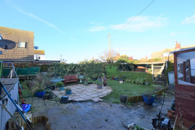 Rear Garden of Seaville Drive, Pevensey Bay BN24