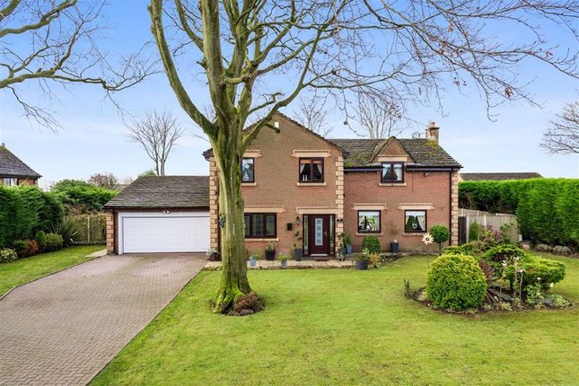 Thumbnail Detached house for sale in Manor House Drive, Crawford, Lancashire
