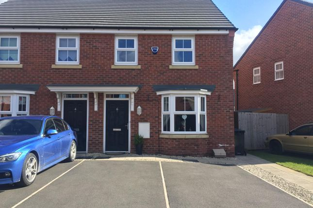 Thumbnail Semi-detached house to rent in Crossley Avenue, Wigan