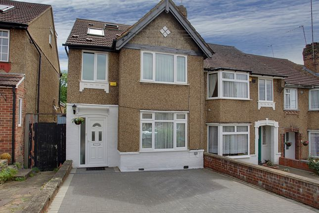 4 bed end terrace house for sale in Robin Hood Way, Greenford