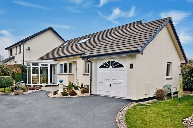 Thumbnail Link-detached house for sale in Badgers Holt, Okehampton