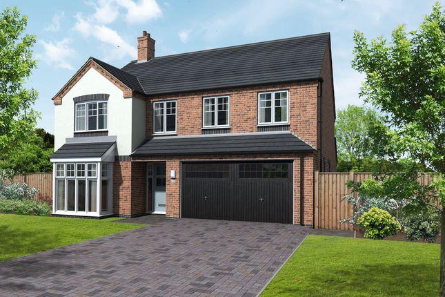 Thumbnail Detached house for sale in Appleby, Coton Road, Rosliston, Swadlincote