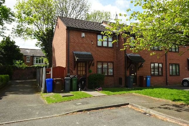 Thumbnail End terrace house for sale in Abbotside Close, Whalley Range, Manchester
