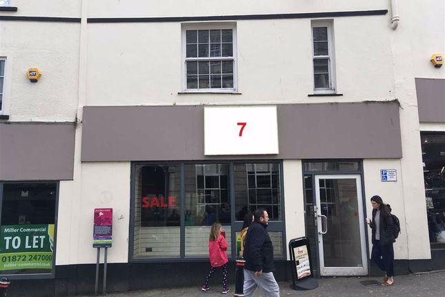 Thumbnail Retail premises to let in 7, Killigrew Street, Falmouth