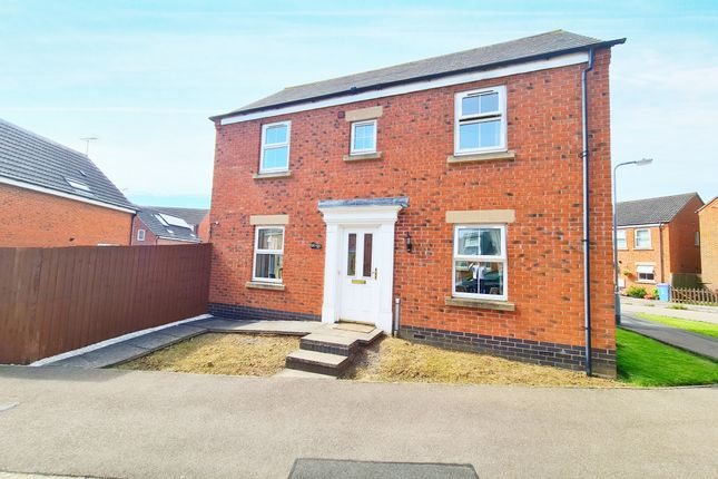 Thumbnail Detached house for sale in Burdock Way, Desborough, Kettering