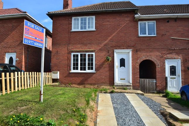 Thumbnail End terrace house for sale in School Street, Upton, Pontefract