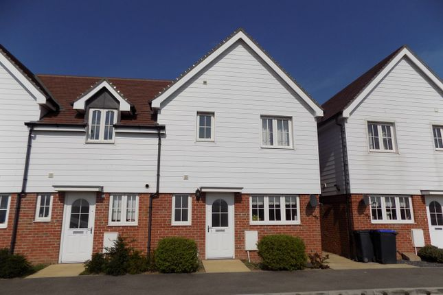 Thumbnail End terrace house to rent in Manston Way Walk, Margate
