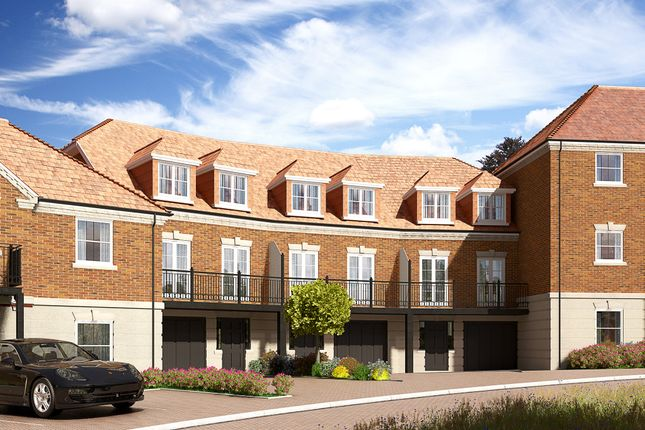 Thumbnail Town house for sale in The Anderson, Keephatch Gardens, London Road, Wokingham Berkshire