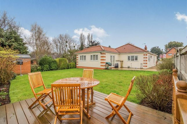 Thumbnail Detached bungalow for sale in The Turn, Hevingham, Norwich
