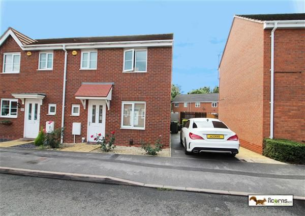 Thumbnail End terrace house for sale in Rough Brook Road, Rushall, Walsall