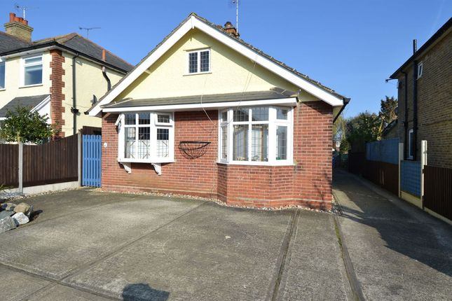 Thumbnail Detached bungalow for sale in Fitzroy Road, Whitstable