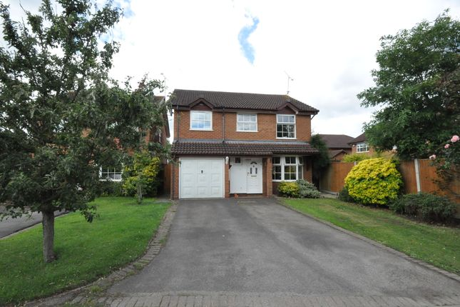 Thumbnail Detached house for sale in Firmstone Close, Lower Earley, Reading