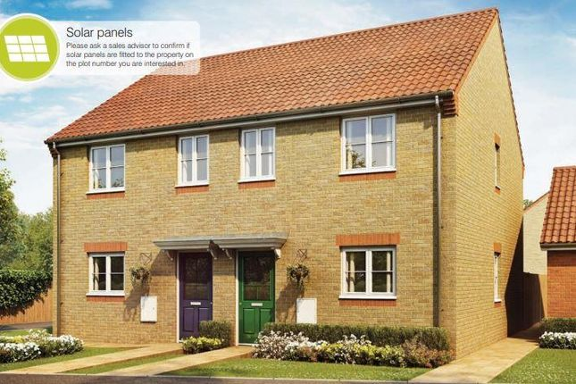 3 bed semi-detached house for sale in Bourne Green, Bourne