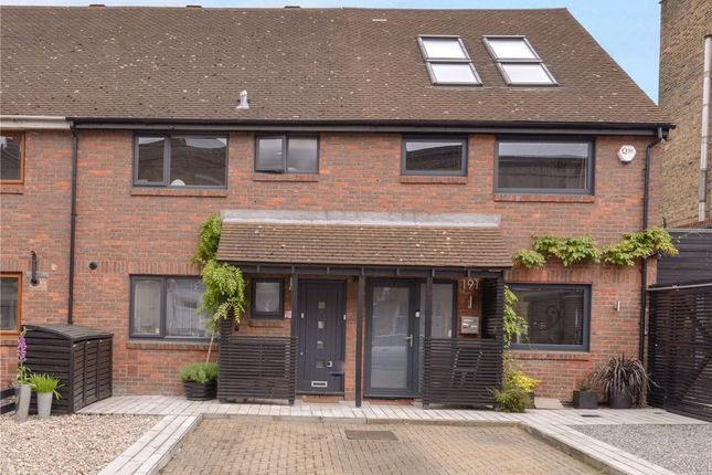 Thumbnail Terraced house for sale in Crystal Palace Road, East Dulwich, London