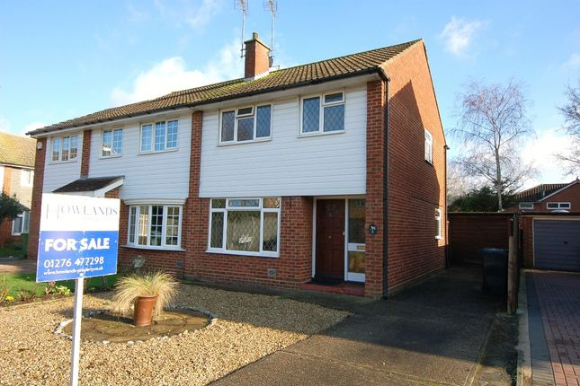 Thumbnail Semi-detached house for sale in Duval Place, Bagshot