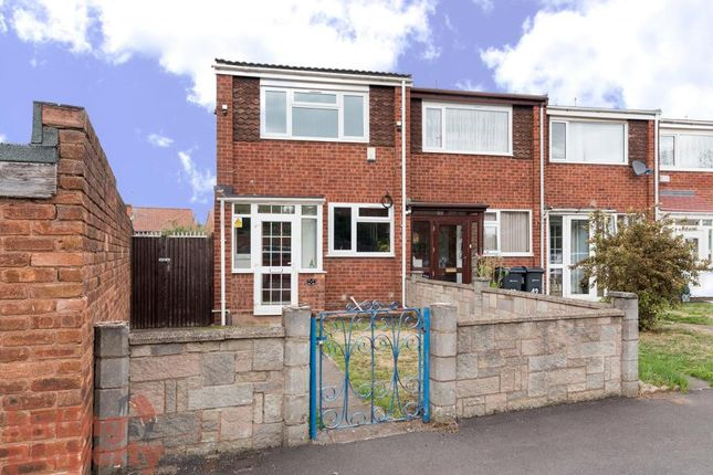Thumbnail End terrace house to rent in Oxford Close, Birmingham