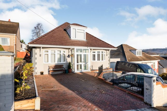 Thumbnail Detached bungalow for sale in Tyn Y Coed, Ystrad Mynach, Hengoed