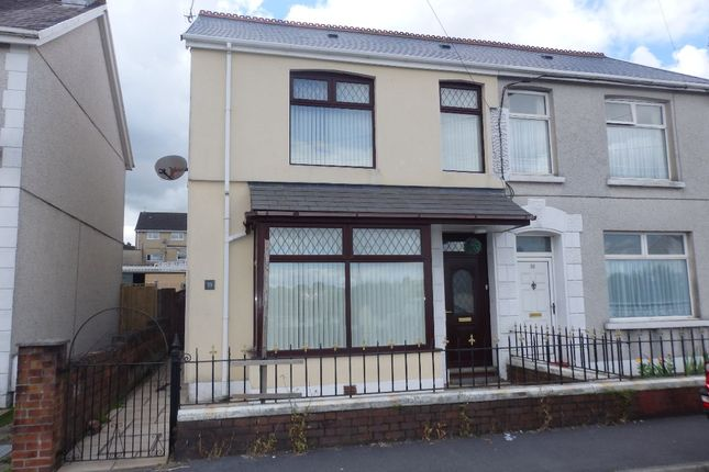 Thumbnail Semi-detached house for sale in Clos Cefn Brith, Havard Road, Llanelli