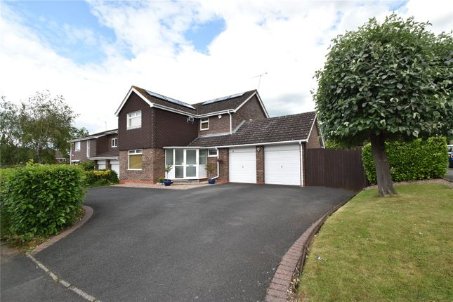 Thumbnail Detached house for sale in Clydesdale Road, Droitwich Spa, Worcestershire