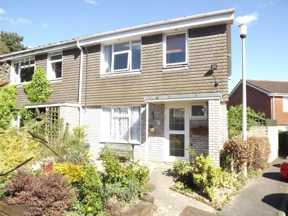 Thumbnail End terrace house for sale in Walkford, Christchurch, Dorset