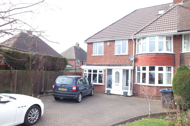 Thumbnail Semi-detached house for sale in Little Pitts Close, Erdington, Birmingham