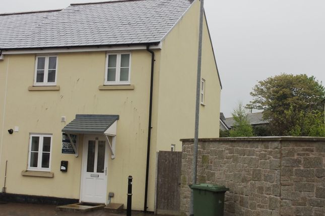 Thumbnail End terrace house to rent in Madison Close, Hayle, Cornwall