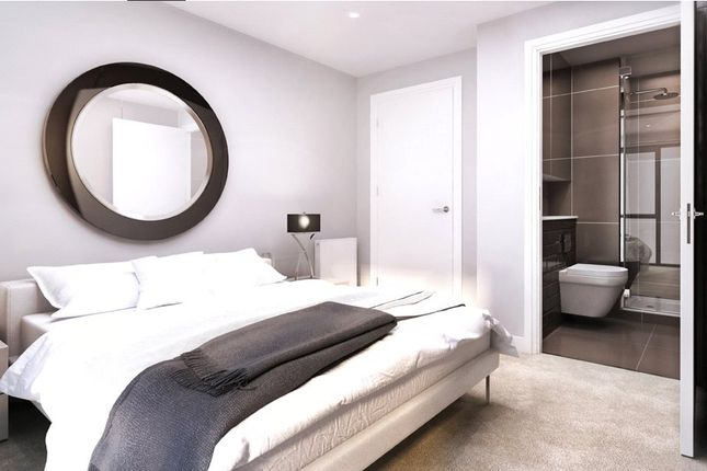 Thumbnail Flat for sale in Cambium House, Emerald Gardens, North West Village, Empire Way, Wembley
