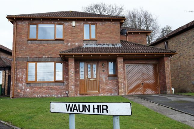 Thumbnail Detached house for sale in Waun Hir, Pontypridd