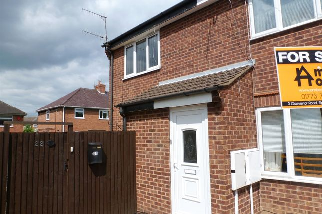 Thumbnail Town house for sale in Dickens Court, Newthorpe, Nottingham