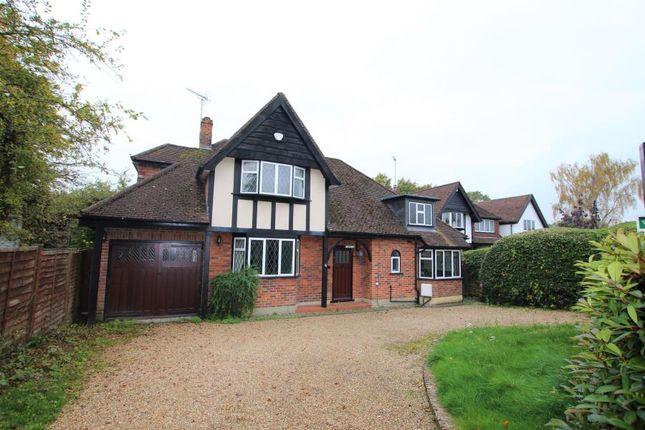 Thumbnail Detached house to rent in Turnoak Lane, Hook Heath, Woking