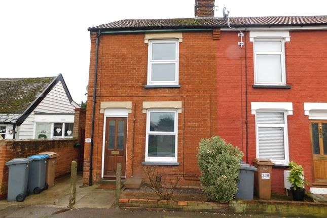 Thumbnail End terrace house to rent in High Street, Felixstowe