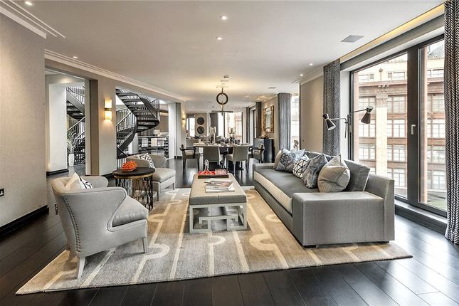 Thumbnail Flat to rent in Basil Street, London