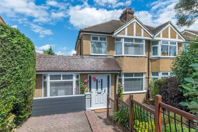 Thumbnail Semi-detached house for sale in Manor Road, Hatfield
