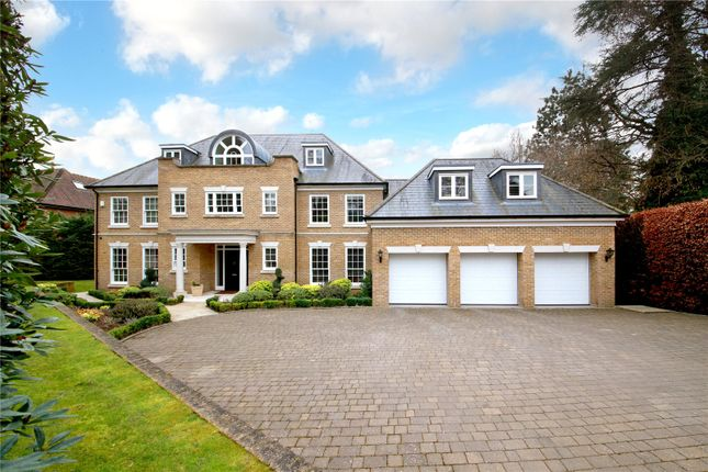 Thumbnail Detached house for sale in Shrubbs Hill Lane, Sunningdale, Ascot, Berkshire