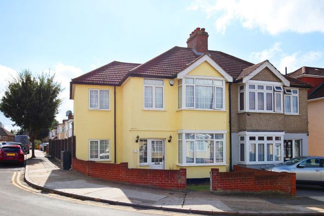 Thumbnail Semi-detached house for sale in Staverton Road, Hornchurch