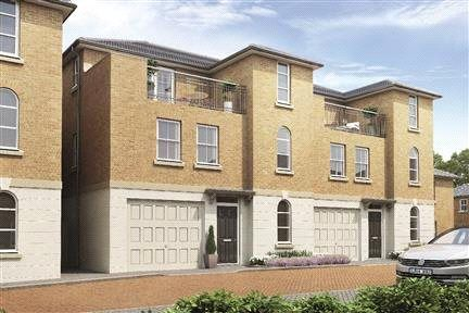 Thumbnail End terrace house for sale in Elizabeth Mews, Mobbs Close, Stoke Poges